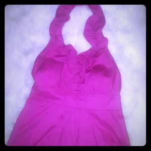 Fushia cocktail dress